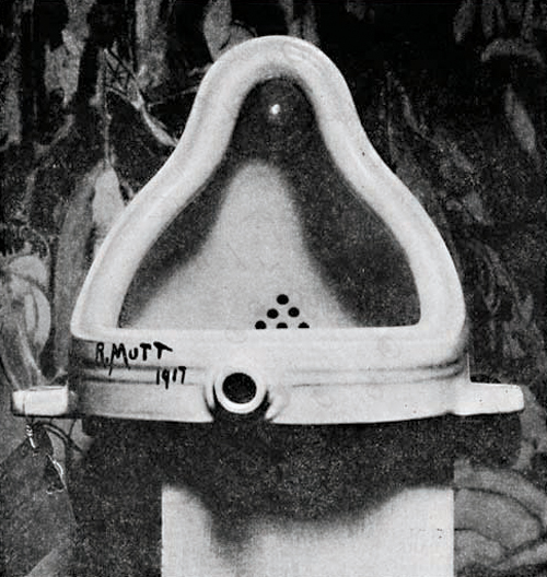 """Fountain"" by Marcel Duchamp (1917)"