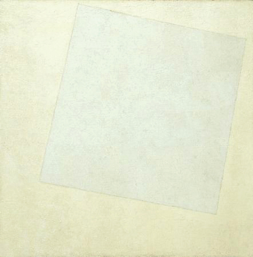 """White on White"" by Kazimir Malevich (1918)"