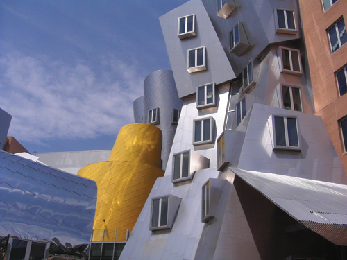Ray and Maria Stata Center by Frank Gehry (2004)