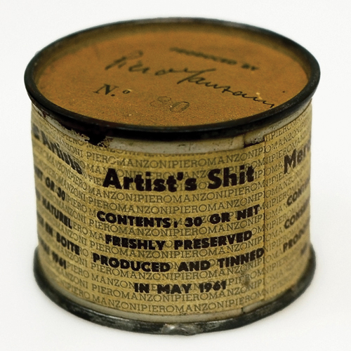 """Artist's Shit"" by Piero Manzoni (1961)"