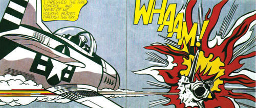 """Whaam!"" by Roy Lichtenstein (1963)"