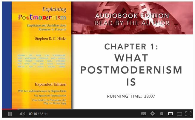 Full audiobook of *Explaining Postmodernism*