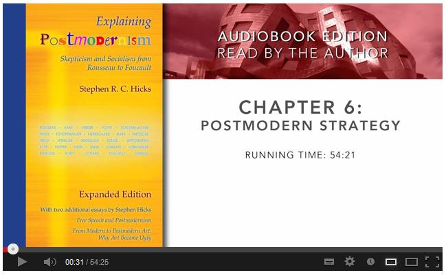 Explaining Postmodernism – Stephen Hicks, Ph D