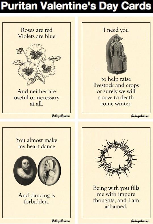 Puritan-valentines