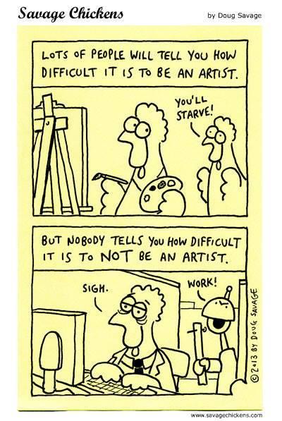 Artist-difficulty