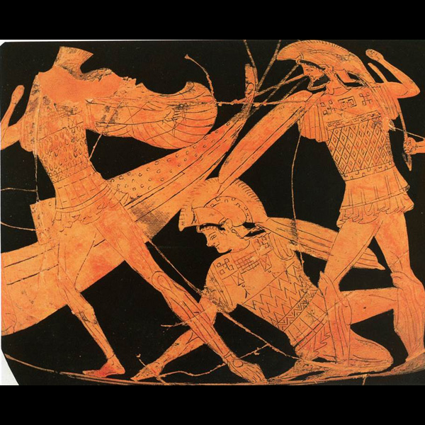an analysis of achilles in homers ancient greek epic poem illiad The iliad is an ancient greek epic poem by homer that  a chapter by chapter summary and analysis  depth analyses of achilles,.