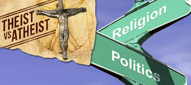 "religion vs politics essay As the old saying goes, ""never discuss religion and politics"" this has been a common courtesy practice amongst individuals because of the diversity in our."