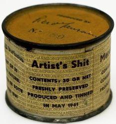"""Artist's Shit"" by Piero Manzoni (1961)"