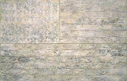 """""""White Flag"""" by Jasper Johns (1955)"""