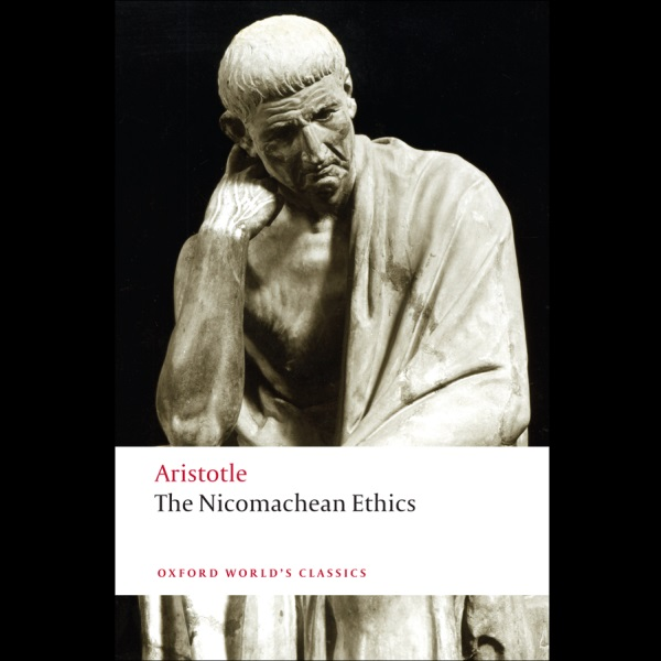 aristotle takes on human happiness in the book nicomachean ethics
