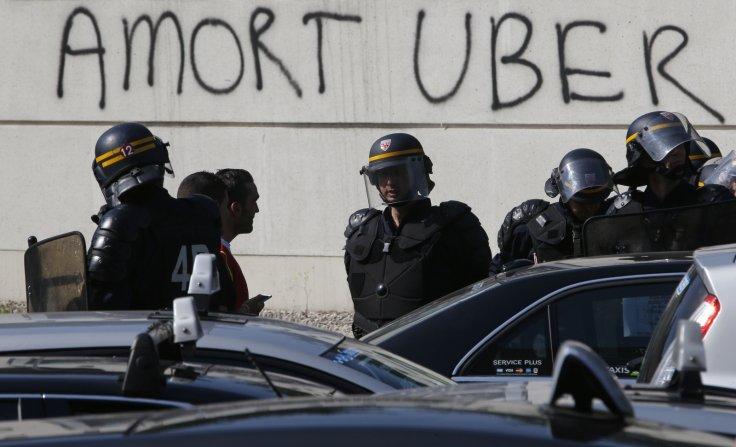uber-protest-france