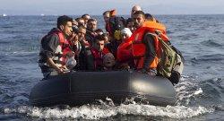syrian refugees boat