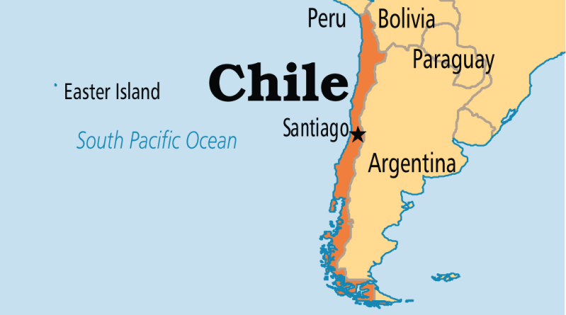 Lecture tour in Chile, August 2016