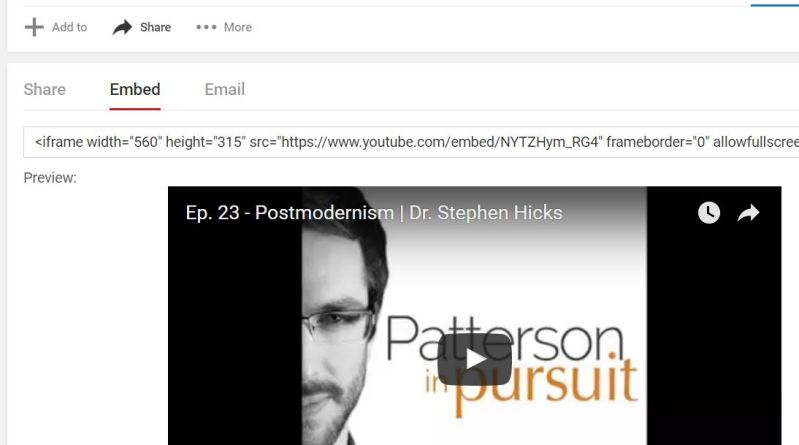 Postmodernism — podcast discussion with Steve Patterson