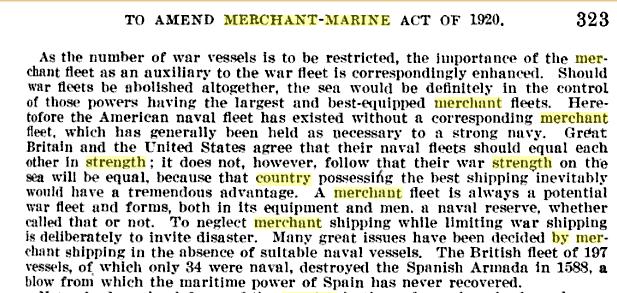 The dead hand of the Jones Act of 1920