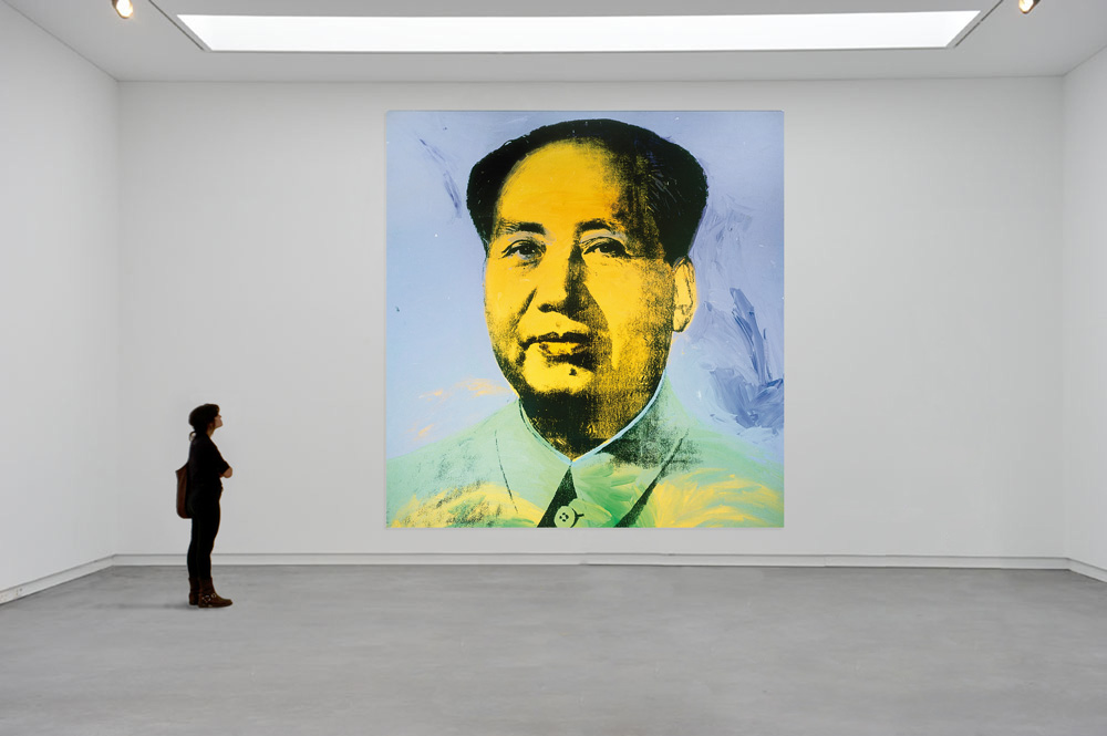 Image result for mao warhol