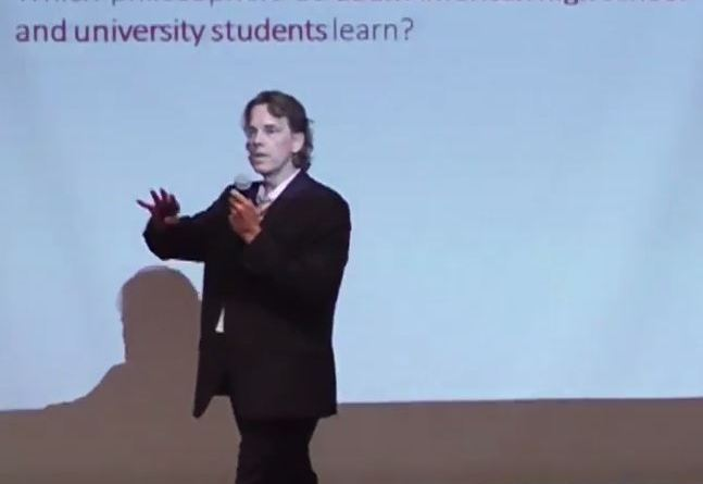 """Progress and Betrayal"" lecture, Rosario, Argentina"