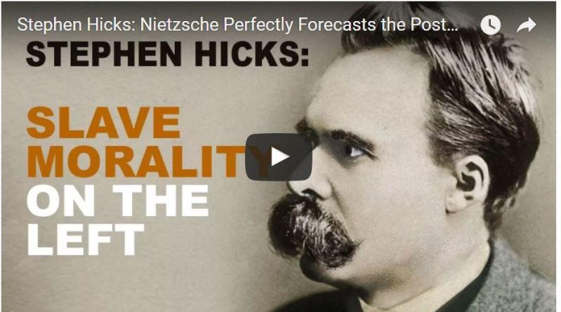 Nietzsche Perfectly Forecasts the Postmodernist Left