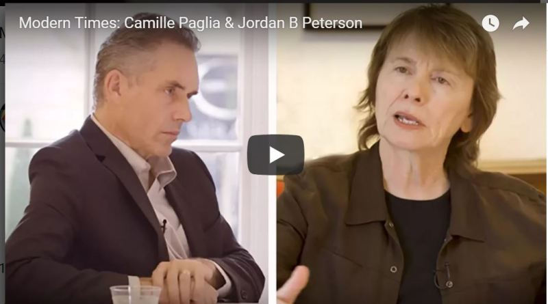 Camille Paglia interviewed by Jordan B Peterson